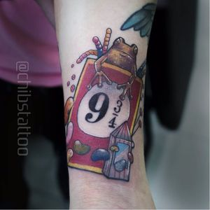 Por Chibs Tattoo! #ChibsTattoo #HarryPotterTattoo #HarryPotter #TatuagemHarryPotter