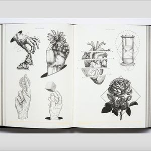 Some of the awesome flash art designs from INK: The Art of Tattoo. #flashdesigns #INKTheArtofTattoo #interviews #tattoohistory #Victionary