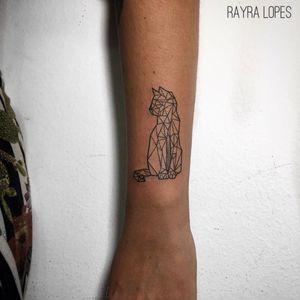 #RayraLopes #brasil #brazil #TatuadorasDoBrasil #blackwork #brazilianartist #gato #cat #catlover #pet #petlover #geometric #geometrica #pontilhismo #dotwork