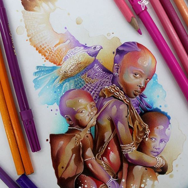 #aquarela #watercolor #vareta #ilustradorvareta #coloridos #brasil #brazil #portugues #portuguese #desenhos #drawing