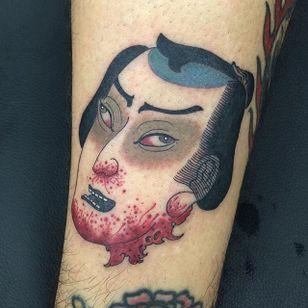 Japanese style #Namakubi #Japanese #severedhead #Acetates