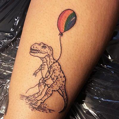ROAR. PRIDE. (via IG—tattoosillustrate) #PrideTattoo #PrideFlag #LGBT #Equality #Rainbow #RainbowTattoo
