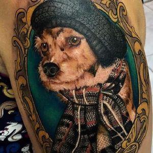 #cachorro #catioríneo #dog #MatheusSacom #RealismoColorido #Realismo #brasil #ElectricInk