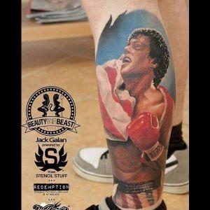 #JackGalan #RockyBalboa #SylvesterStallone #boxe #filme #movie #lutador #fighter #realismocolorido #realism