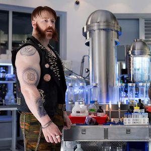 Sheamus as Rocksteady #sheamus #wwe #sheamuswwe #wrestling #bodymodartist #bodymodification #wrestling #wrestler #raw #specialeffects