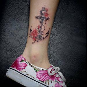 #ancora #anchor #AndreFelipe #TatuadoresDoBrasil #ilustrador #aquarela #watercolor #talentonacional #brasil