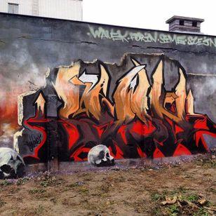 Graffiti by Szejn Szejnowski @szejno #graffiti #tattooartist #art #artshare #SzejnSzejnowski
