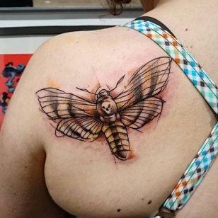 Moth Tattoo by Loreen2l #moth #mothtattoo #watercolormoth #watercolor #watercolortattoo #sketch #sketchtattoo #watercolorsketch #sketchwatercolor #abstractwatercolor #Loreen2L