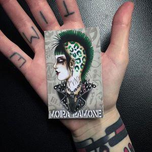 Moira Ramone #moiraramone #neotraditional #traditional #25toLife #rotterdam