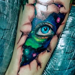 #eye #galaxia #galaxy #VinniMattos #coloridas #colorful #realismo #ElectricInk #TatuadoresBrasileiros #BrazilianTattooArtist #brasil
