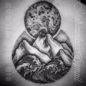 #EricWilcox #lua #moon #moontattoo #satellite #space #universe #moonphases #fasesdalua