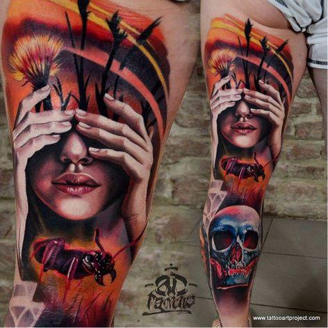 Feito por AD Pancho #ADPancho #gringo #woman #mulher #realism #realismo #surrealismo #surrealism #skull #caveira #cranio #formiga #ant #inseto #bug #flor #flower