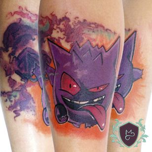 Jengar! #AndreMelo #tatuadoresdobrasil #sketch #pokemon #jengar #nerd #geek #game #gamer #anime #colorida #colorful #nintendo