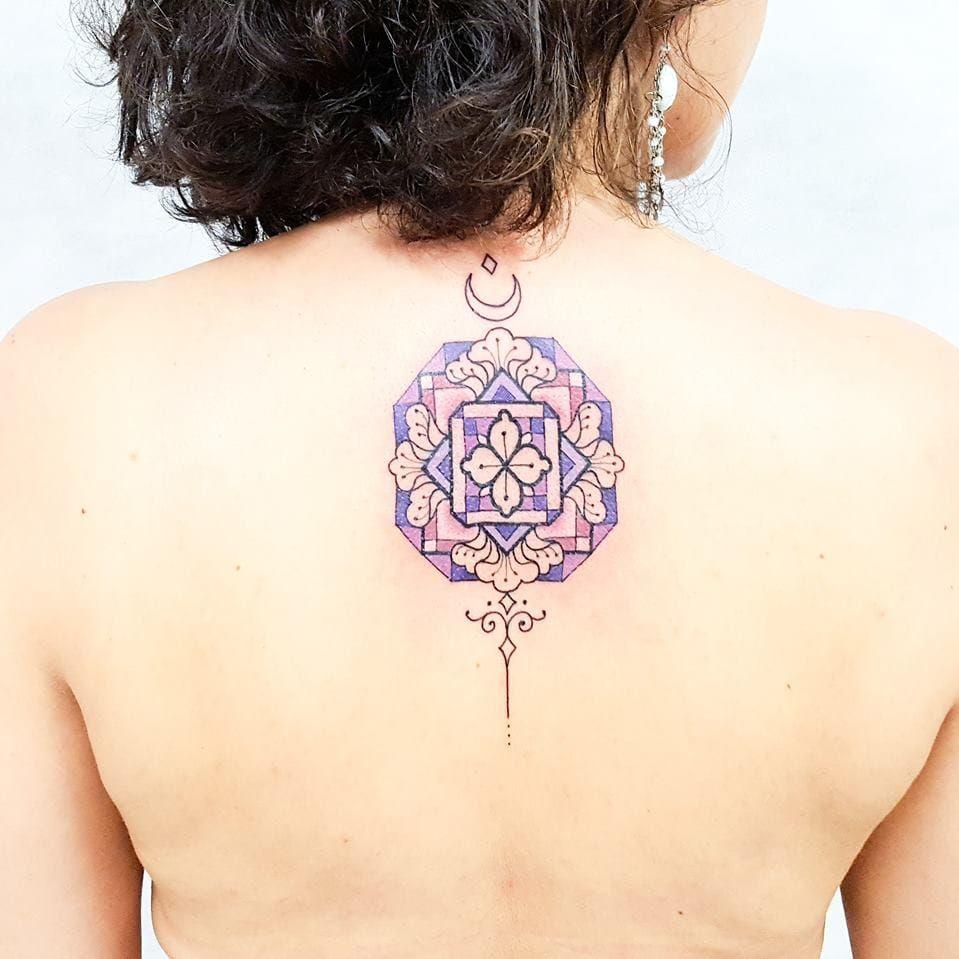 O incrível trabalho de Brian Gomes. #BrianGomes #TatuadoresdoBrasil #Brasil #Brazil #tribalbrasileiro #geometria #arteindígena