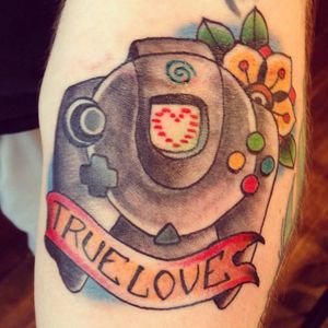 Dreamcast controller by Andrew Milko #andrewmilko #segadreamcast #dreamcast #dreamcasttattoo #segadreamcasttattoo #sega #segatattoo