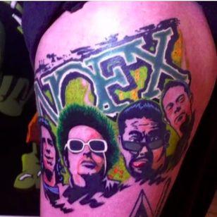 NOFX by Bobby Avilés (via IG -- roberlin_aviles) #BobbyAvilés #nofx #nofxtattoo