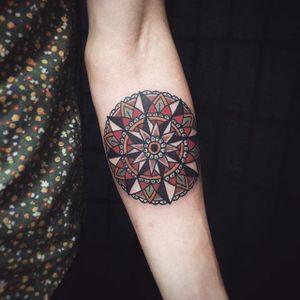 Mandala. #Cooley #MattCooley #traditional #mandala