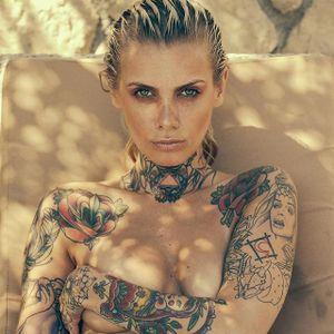 Valentina Bellezza by Florian Roeske (via IG-valentinabellezza) #model #tattooedmodel #alternativemodel #wcw #valentinabelleza