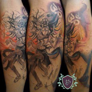 Shiva Yantra. #AndreMelo #tatuadoresdobrasil #sketch #shiva #yantra