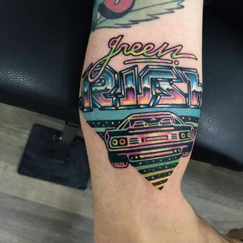 #Raro #gringo #colorido #colorful #neon #fun #divertida #psychedelic #psicodelica #surrealism #surrealism #carro #car #escrita #writing