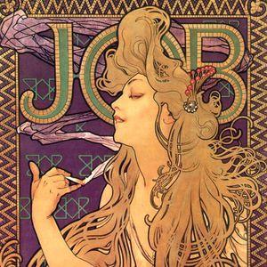 Jobs Cigarette Poster by Alphonse Mucha #mucha #alphonsemucha #artnoveau #artist #art #classicart