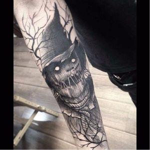 Por Fredão Oliveira! #FredaoOliveira #Scarecrow #scarecrowtattoo #BlackWork #FromHell #TatuagemFromHell #TatuagensMacabras #TatuadoresBrasileiros #TatuadoresBr #TatuadoresBrasil #TattooBr #TattooBrasil