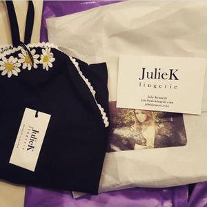 "Custom ""Daisy"" bodysuit via instagram julieklingerie #lingerie #bra #girlboss #julieklingerie #lace #underwear #NSFW"