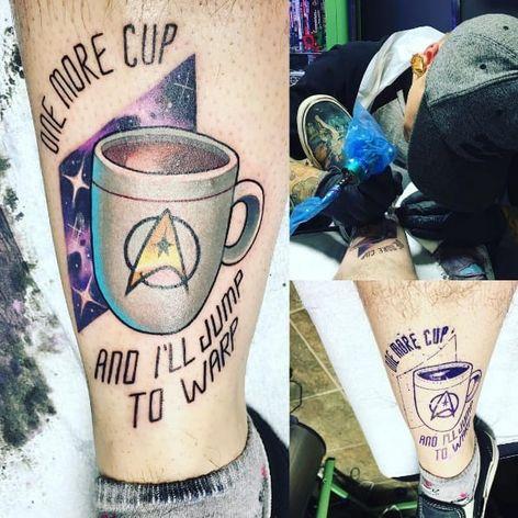 Feita por Mitchel Von Trapp #MitchelVonTrapp #StarTrek #FrotaEstelar #Starfleet #neotrad #50thAniversary #50AnosStarTrek