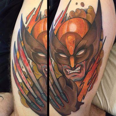 Aquele Wolverine de responsa! #DavidTevenal #comics #quadrinhos #hq #nerd #geek #coloridas #colorful #wolverine #xmen