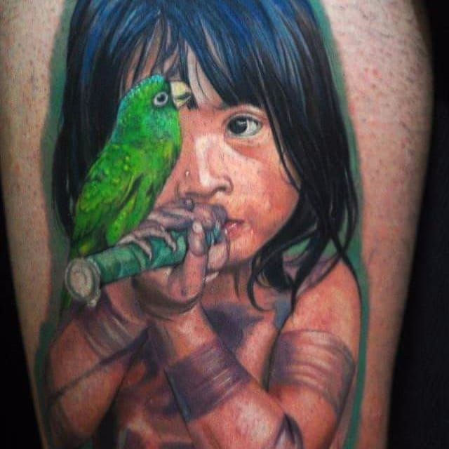Por Deley Tattoo! #DeleyTattoo #TatuadoresBrasileiros #Realism #realistictattoo #realismo