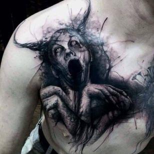 #EzequielRomankiu #DarkArtTrash #trashart #tatuadoresbrasileiros #tatuadoresbr