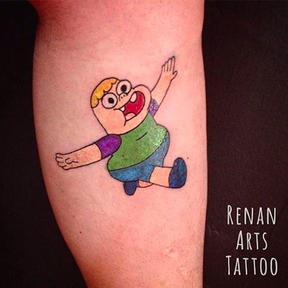 Clarêncio, o otimista por Renan Arts Tattoo! #RenanArtsTattoo #Tatuadoresbrasileiros #cartoonnetwork #cartoon #nerd #geek #cartoon #clarence #clarencecartoon #clarencio #otimista #clarencioootimista