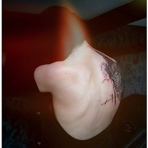 Abstract tattoo. #NastasjaBarashkova #abstract #contemporaryart #blackwork