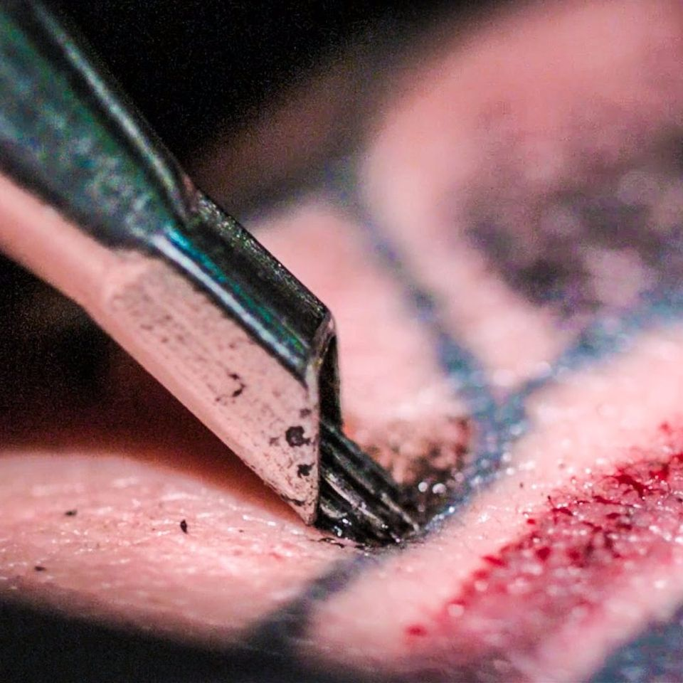 How Does a Tattoo Actually Work #TattoodoGuides #Guides #TattooNeedle #Skin