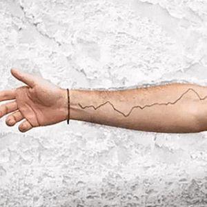 Justin Guariglia's tattoo. #JustinGuariglia #NASA #ClimateChange #Climate #Science #ScienceTattoo