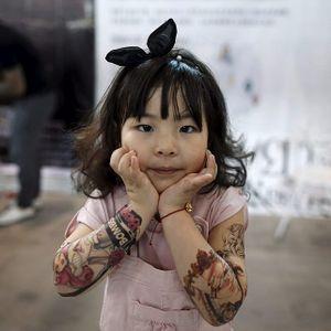 Shanghai International Art Festival of Tattoos   Photo – Reuters #Shanghai #tattooconvention #festival #convention #china