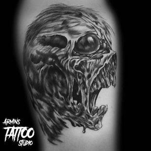 By Armins Tattoo (via IG -- arminstattoostudio) #arminstattoo #berniewrightson