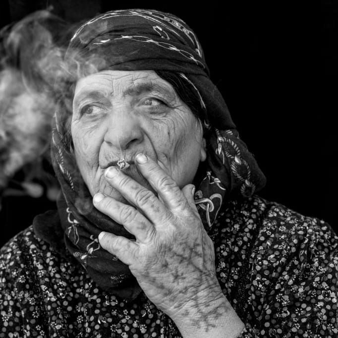 Zubeyda Ali photographed by Jodi Hilton #JodiHilton #ZubeydaAli #JodiHiltonPhotography #Badass #Tattooed #Elders #Grandma #ElderlyWomen #Woman #tattooedgrandma