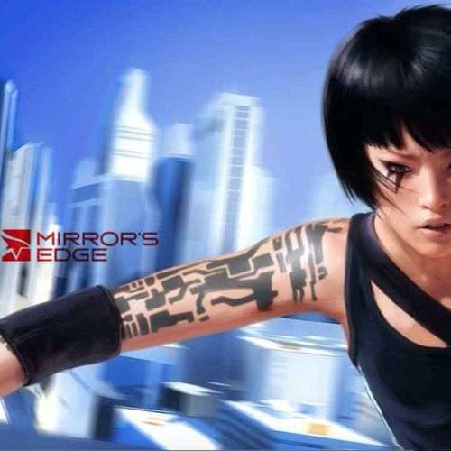 The quick-footed Faith from Mirror's Edge. #tattooedcharacters #videogames