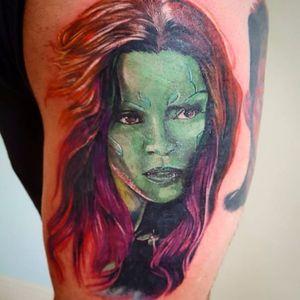 Linda, maravilhosa, dona da galáxia #JohnMacGregor #GuardioesDaGalaxia #guardiansofthegalaxy #marvel #movie #filme #disney #comic #hq #superhero #superherois #gamora #zoesaldana