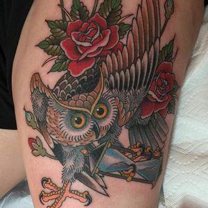 Majestic owl via @deandenney #DeanDenney #traditional #owl