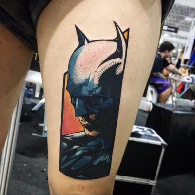 Por Ruberto Morais #RubertoMorais #brasil #brazil #brazilianartist #tatuadoresdobrasil #batman #dc #comic #hq #nerd #geek #superheroi #superhero #BruceWayne