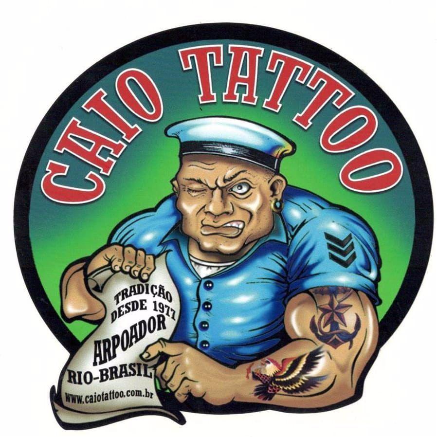 Caio Tattoo, Rio de Janeiro. #CaioTattoo #historiadatattoo #estudiosantigos #curiosidades #TatuadoresDoBrasil