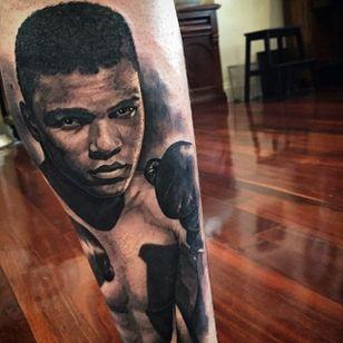 The late, great Muhammad Ali. By Ben Thomas. #realism #blackandgrey #blackandgreyrealism #portrait #BenThomas #MuhammadAli