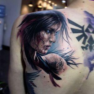 Arrebatadora #SandraDaukshta #LaraCroft #tombraider #game #videogame #jogo #mulher #woman #movie #filme #realismo #realism #realismocolorido #nerd #geek