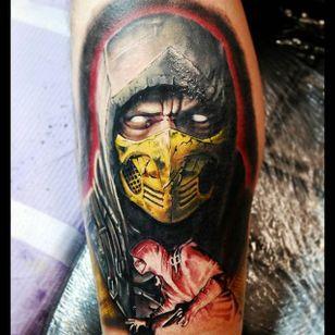 Scorpion from Mortal Kombat by Justin Buduo. #realism #colorrealism #JustinBuduo #Scorpion #MortalKombat