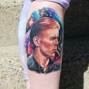 David Bowie color realism portrait by Justin Buduo. #realism #colorrealism #JustinBuduo #portrait #DavidBowie