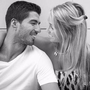 Luis Suarez and his wife Sofi Balbi. #LuisSuarez #Barcelona #FCBarcelona #Soccer #Football