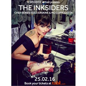 Inksiders tattoo and food event #foodie #chef #cooking #MoCoppoletta
