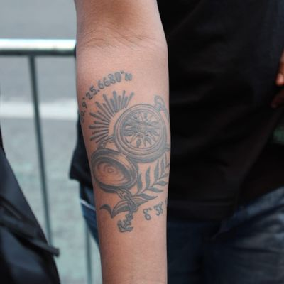 Denden G. (photo by Alex Wikoff) #tattooedandtakinittothestreets #meaningfultattoo #nyc #people #stories